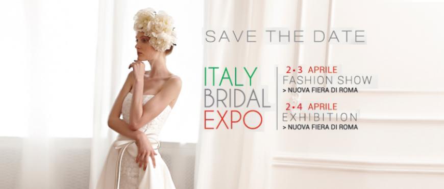 ITALY BRIDAL EXPO 2016 PRESSO ROMA